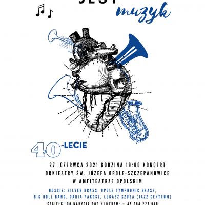 Koncert w Amfiteatrze 27-06-2021  godz 19:00